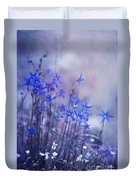 Bluebell Heaven Duvet Cover by Priska Wettstein