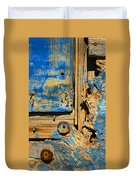 Blues Dues Duvet Cover by Skip Hunt