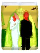Blushing Bride And Groom 2 Duvet Cover by Patrick J Murphy