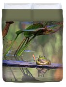 Boardwalk Duvet Cover by Donna Kennedy