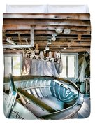Boathouse Duvet Cover by Heather Applegate