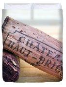 Bordeaux Wine Corks Duvet Cover by Frank Tschakert