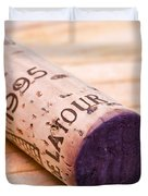 Bordeaux Wine Duvet Cover by Frank Tschakert