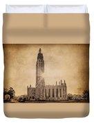 Boston United Methodist Church Duvet Cover by Tamyra Ayles