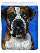 Boxer Duvet Cover by Bibi Romer