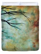 Breathless 3 By Madart Duvet Cover by Megan Duncanson