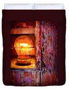 Bright Idea Duvet Cover by Skip Hunt
