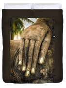 Buddha Hand Duvet Cover by Adrian Evans