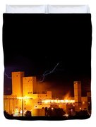 Budwesier Brewery Lightning Thunderstorm Image 3918 Duvet Cover by James BO  Insogna