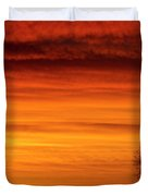 Burning Country Sky Duvet Cover by James BO  Insogna
