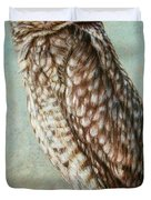 Burrowing Owl Duvet Cover by James W Johnson