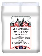 Buy U.S. Government Bonds Duvet Cover by War Is Hell Store