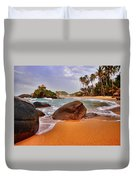 Cabo San Juan Duvet Cover by Skip Hunt
