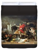 Caesar Duvet Cover by Adolphe Yvon
