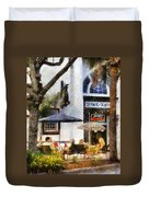 Cafe Duvet Cover by Francesa Miller