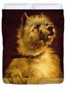 Cairn Terrier   Duvet Cover by George Earl