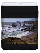 California Coast Sonoma Duvet Cover by Garry Gay