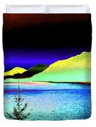 Call Of The Coast Duvet Cover by Will Borden