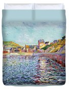 Calvados Duvet Cover by Paul Signac