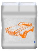 Camaro Duvet Cover by Naxart Studio