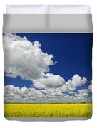 Canola Field Duvet Cover by Elena Elisseeva