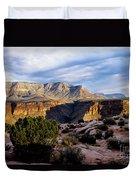 Canyon Walls At Toroweap Duvet Cover by Kathy McClure