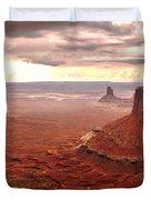 Canyonland Rain Duvet Cover by Robert Bales