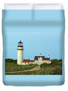 Cape Cod Highland Lighthouse Duvet Cover by Juergen Roth