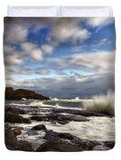 Cape Neddick Maine Duvet Cover by Rick Berk