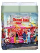 Carnival - The Variety Is Endless Duvet Cover by Mike Savad