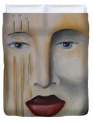 Carnival 1 Duvet Cover by Leah Saulnier The Painting Maniac