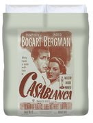 Casablanca Duvet Cover by Georgia Fowler