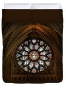 Cathedral Window Duvet Cover by Adrian Evans