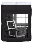 Chair By Window - Ireland Duvet Cover by Mike McGlothlen