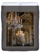 Chandelier At Versailles Duvet Cover by Georgia Fowler