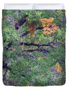 Changing Of The Seasons Duvet Cover by Mary Deal