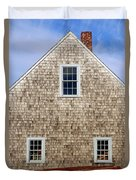 Chatham Boathouse Duvet Cover by John Greim