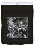 Cherubim Of Beasties Duvet Cover by Otto Rapp