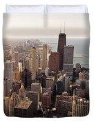 Chicago Duvet Cover by Steve Gadomski