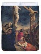 Christ on the Cross Duvet Cover by Delacroix