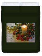 Christmas Time  Duvet Cover by Sophie De Roumanie