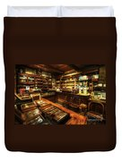 Cigar Shop Duvet Cover by Yhun Suarez