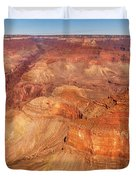 City - Arizona - Grand Canyon - The Great Grand View Duvet Cover by Mike Savad