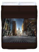 City Hall Duvet Cover by Lori Deiter