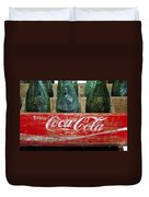 Classic Coke Duvet Cover by David Lee Thompson