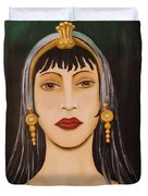 Cleo Duvet Cover by Leah Saulnier The Painting Maniac
