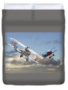 Close Quarters Duvet Cover by Pat Speirs