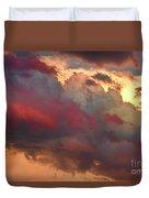 Cloudscape Sunset 46 Duvet Cover by James BO  Insogna