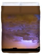 Colorful Colorado Cloud To Cloud Lightning Thunderstorm 27 Duvet Cover by James BO  Insogna