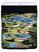 Colorful Water Ripples Duvet Cover by Dave Fleetham - Printscapes